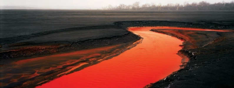 RIVERS TURNING BLOOD RED