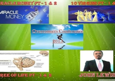 MP3 Bundle – 3 Messages  Pack With  Parts 1 & 2 of each – ONLY  $11.11