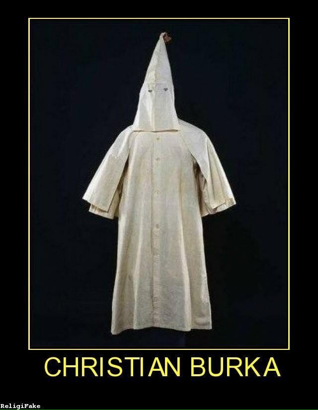 kkk burka