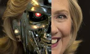 "Hillary Clinton Comes Out As …""AI?"""
