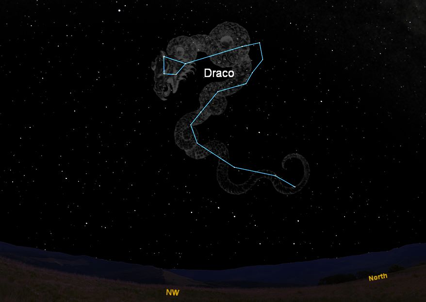 Draco the Dragon Constellation Part 3